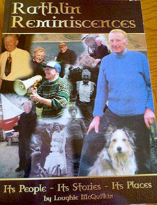Book Cover of Rathlin Reminiscences by Loughie McQuilkin